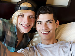 Bareback Manstick Friends Home Movie! - Justin Cross & Kayden Alexander