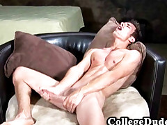 College Dudes - Austin Gama Busts A Nut
