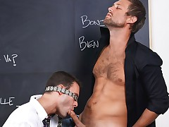 Sex-crazed Teachers Teaching - Police officer Clark And Cameron Kincade