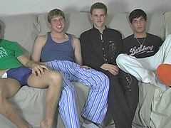 5 Guy Fap And Deep-throat Session - Blair, Jayce, Sean, Tyler and Tyler